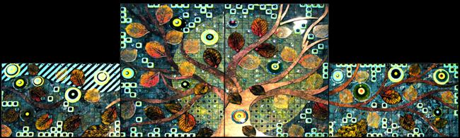Nussbaum Backsplash Artworks In Glass